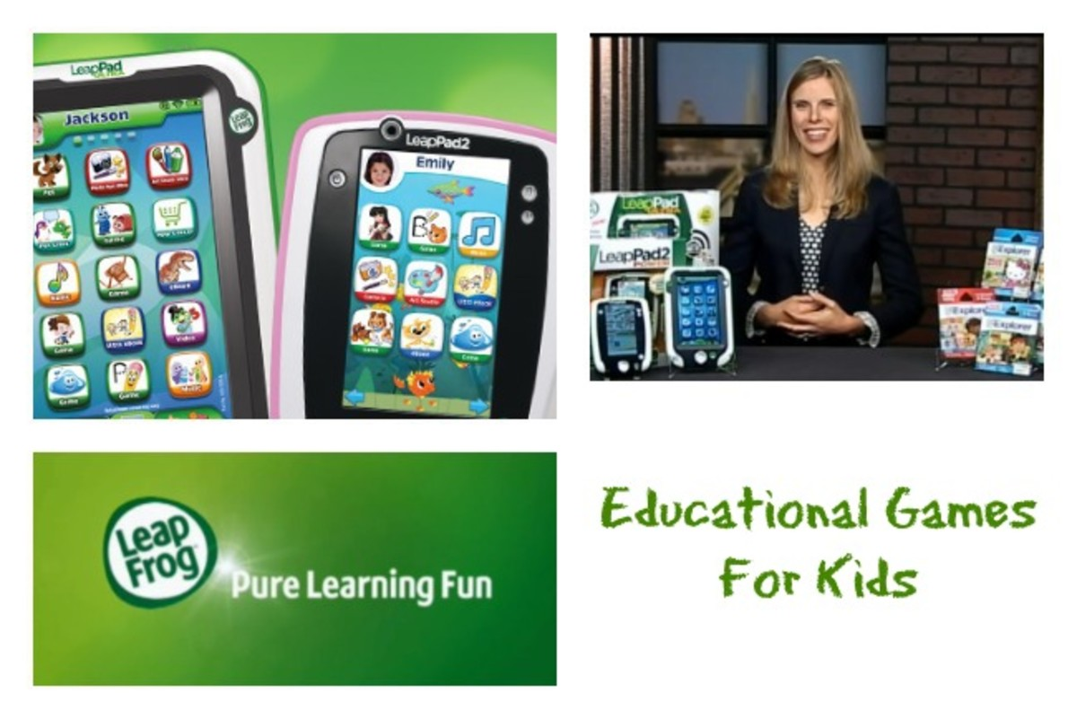 Educational Games for Kids, Leap Frog