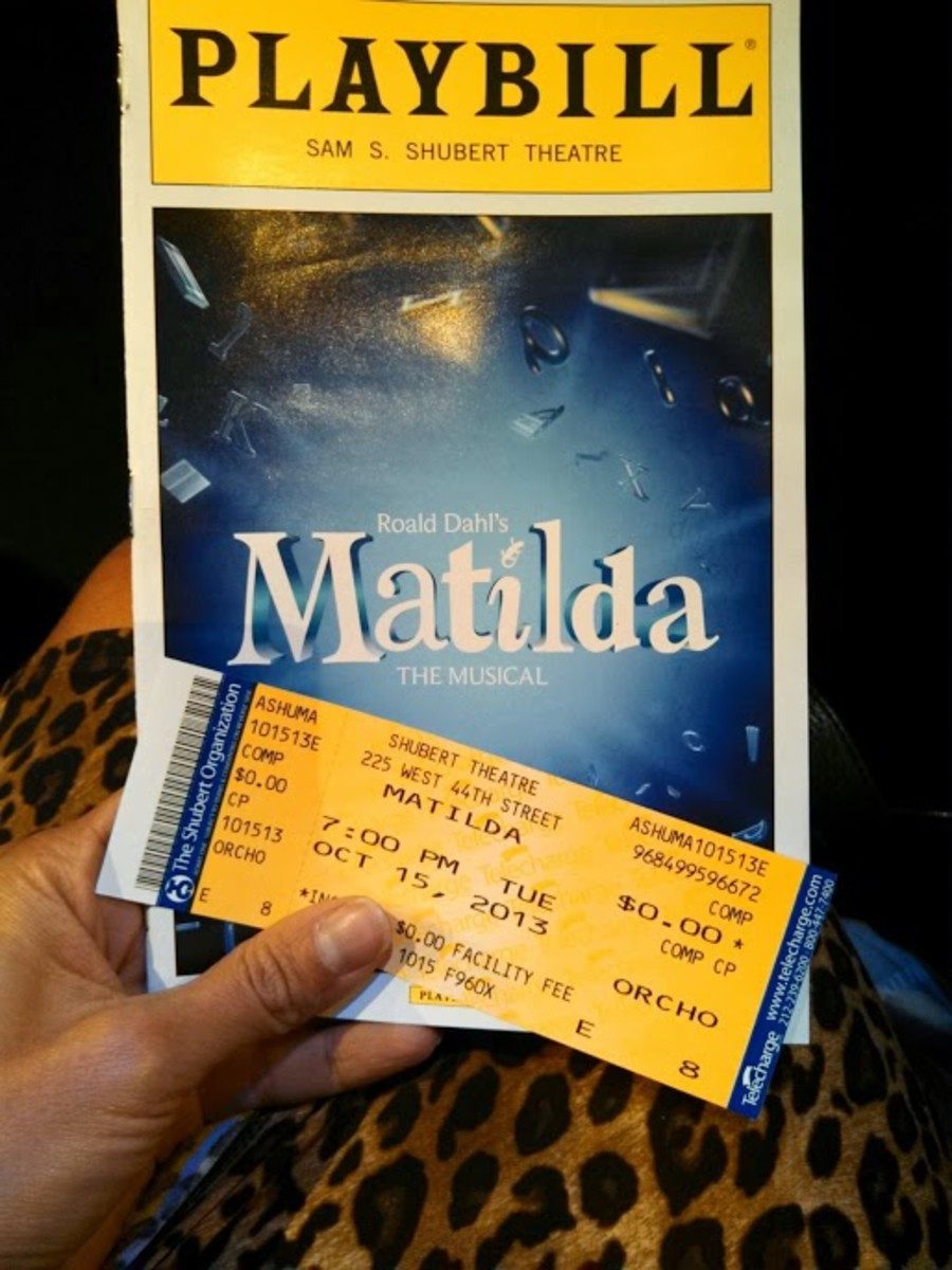 matilda on broadway, matilda, matilda promotions, roald dajl matilda, nyc broadway, broadway for kids