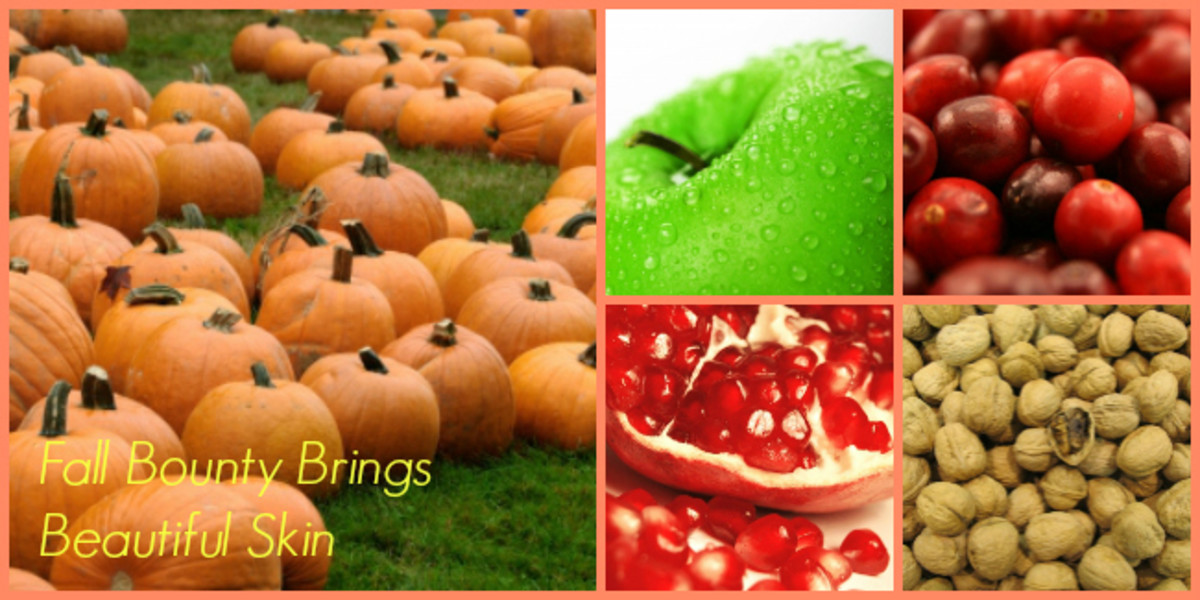 fall fruit beauty Collage