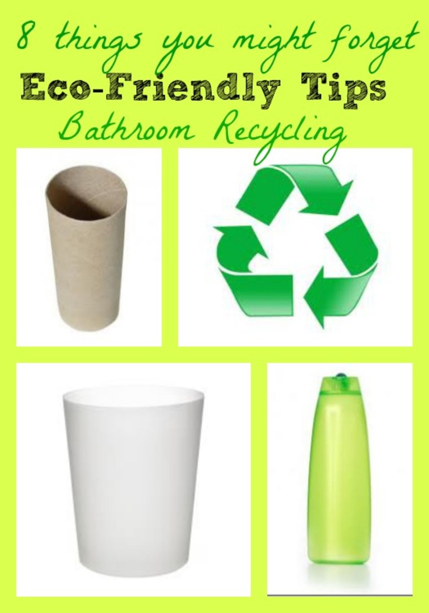things to recycle in the bathroom