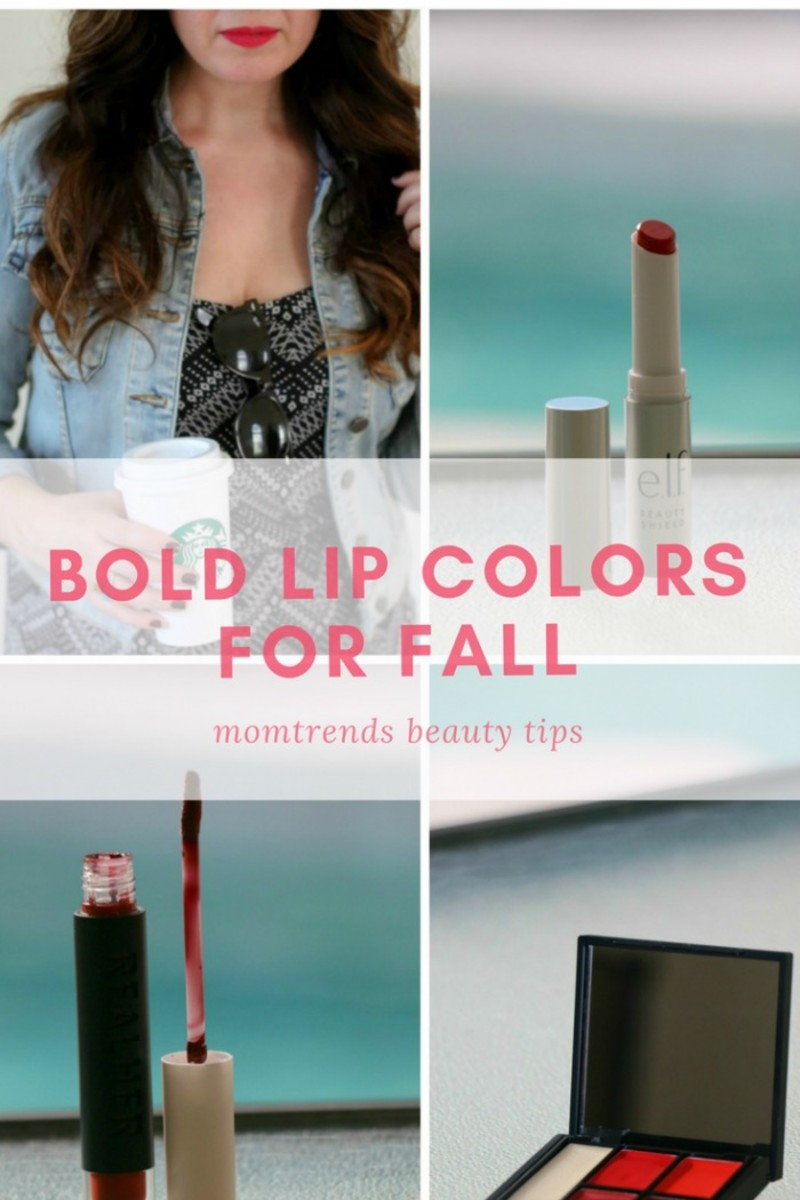 bold fall lips