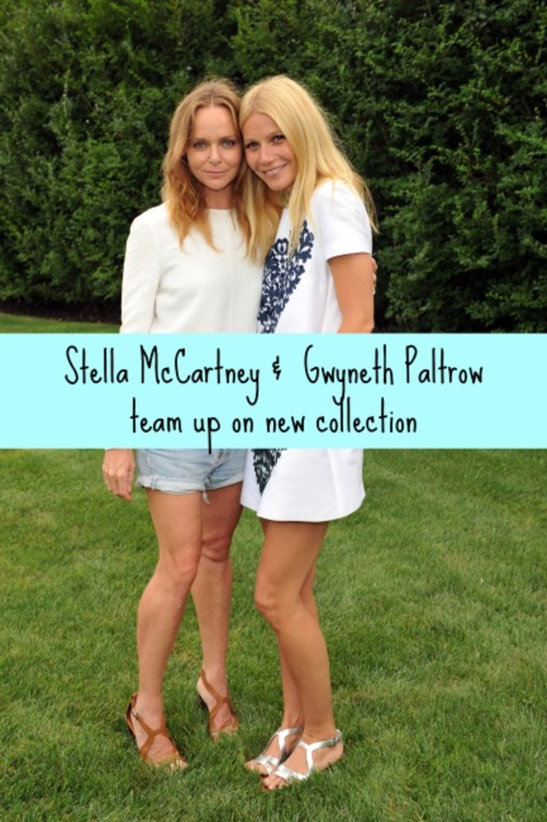 Stella McCartney and Gwyneth Paltrow goop Capsule Collection, goop, Stella McCartney, Gwyneth Paltrow, fashionable moms, celebrity moms, mom trends