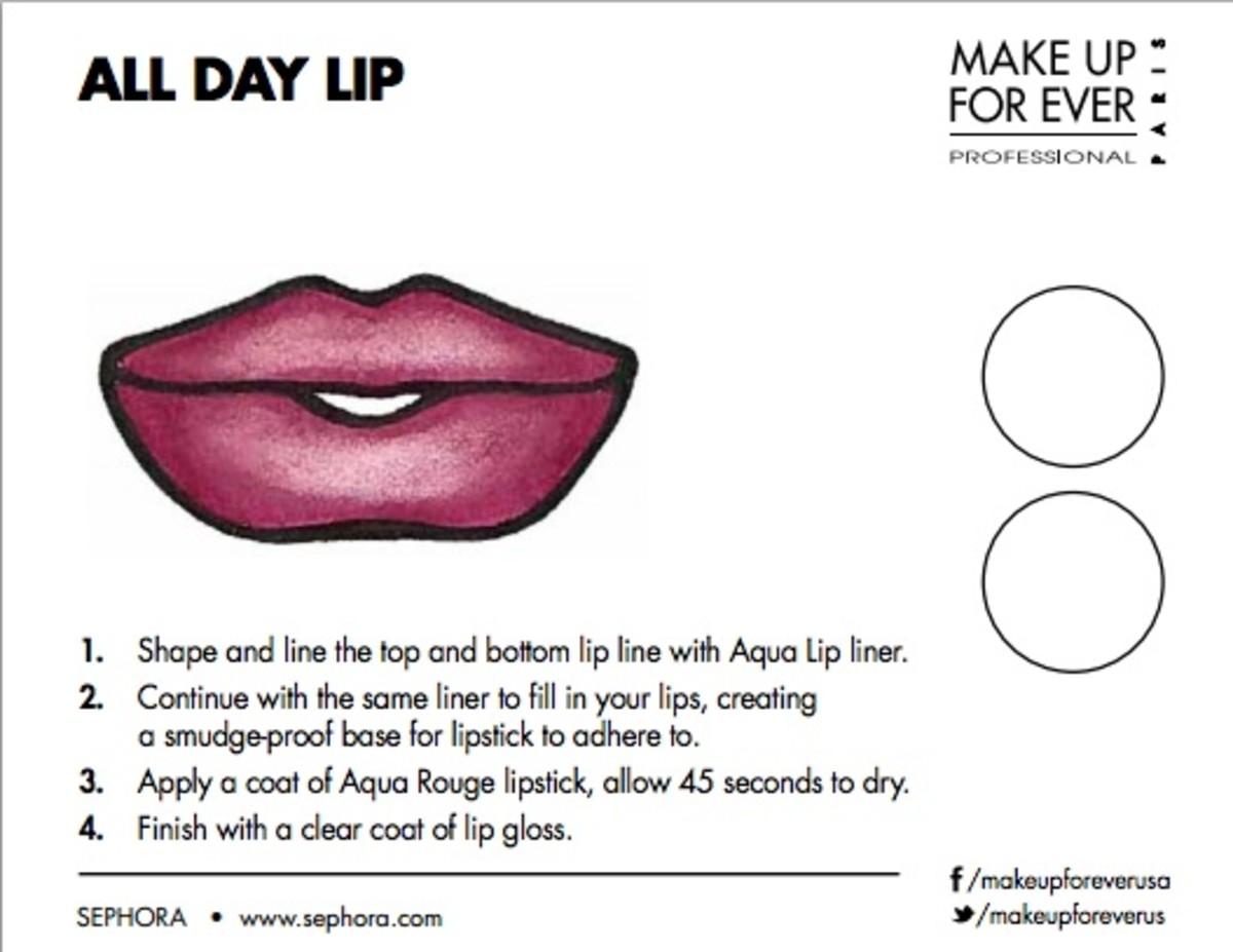 makeup forever lip
