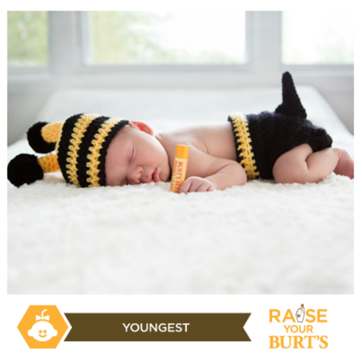 youngest burt's bees fan