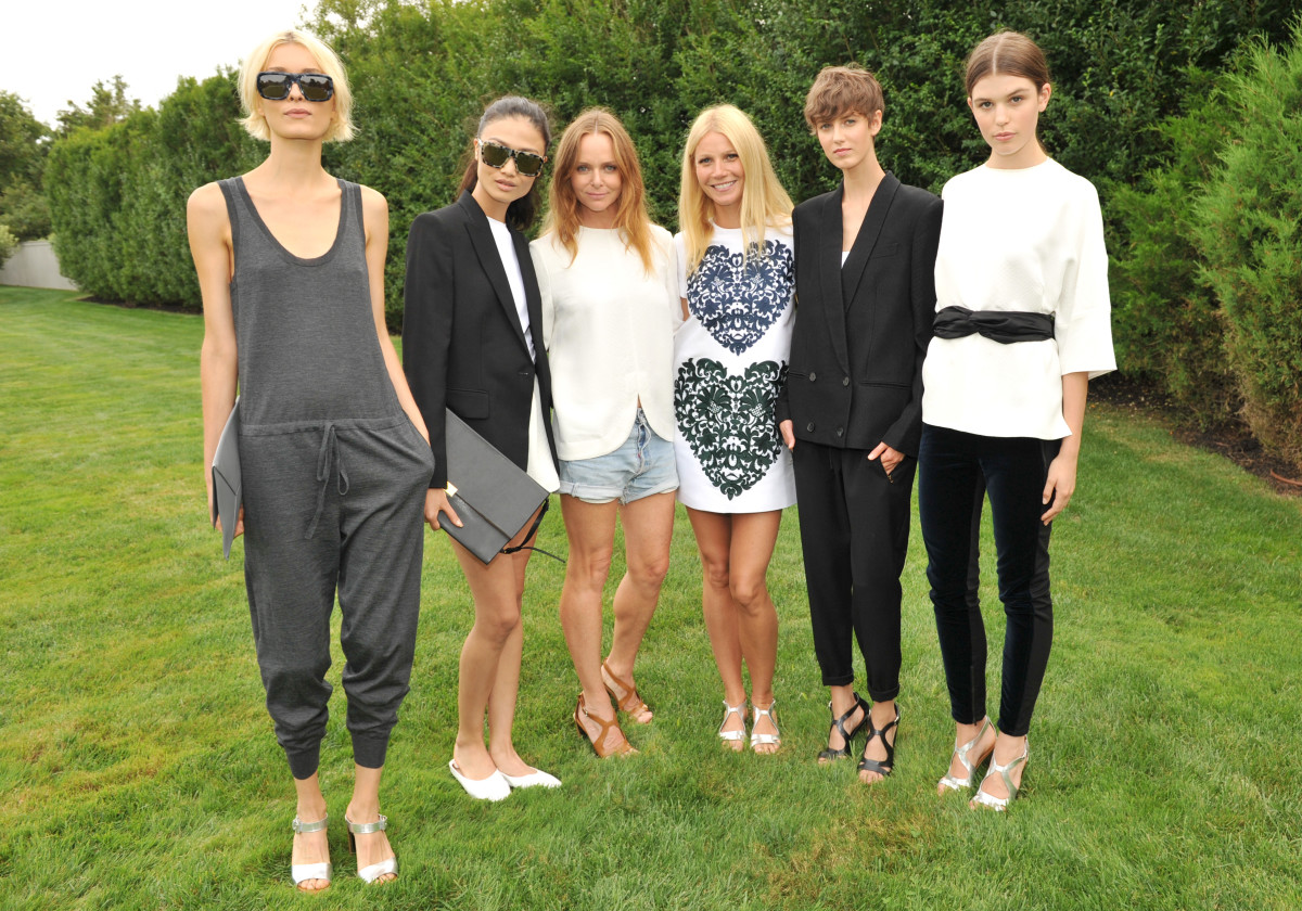 Stella McCartney and Gwyneth Paltrow goop Capsule Collection, goop, Stella McCartney, Gwyneth Paltrow, fashionable moms, celebrity moms, mom trends, garden party in the Hamptons