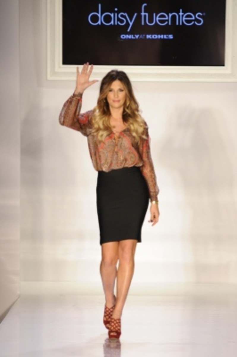Daisy Fuentes - Runway - Spring 2013 Mercedes-Benz Fashion Week