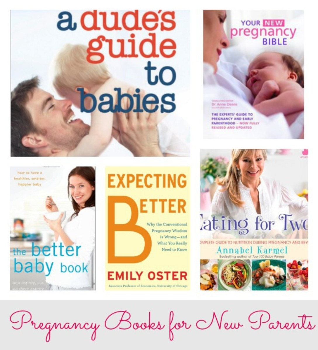 Pregnancy Books, books for moms