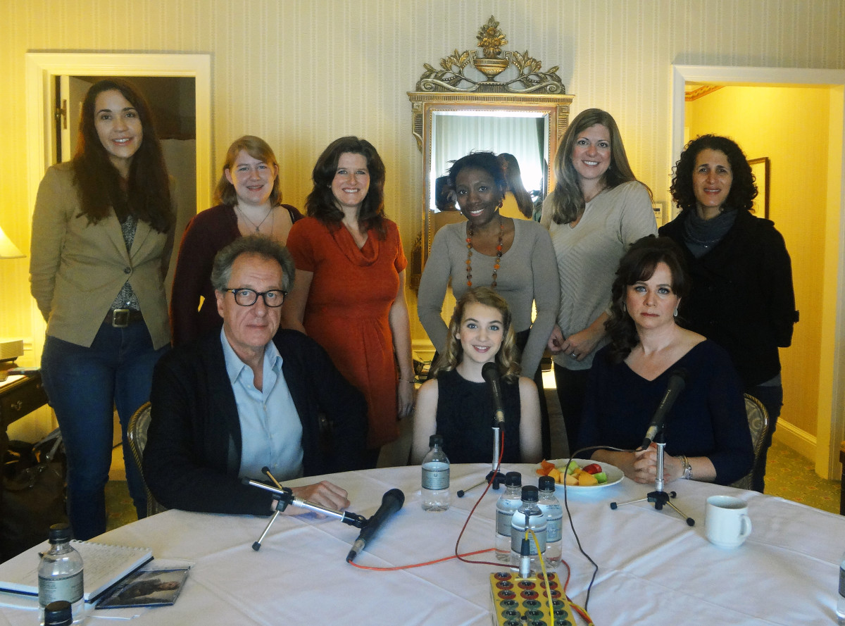the book thief cast interviews  tbt nypressday cast tbt nypressday filmmakers
