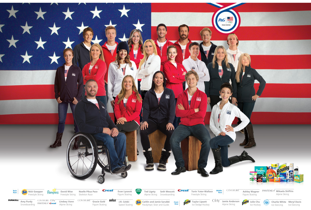 P&G thank you mom, olympic athletes