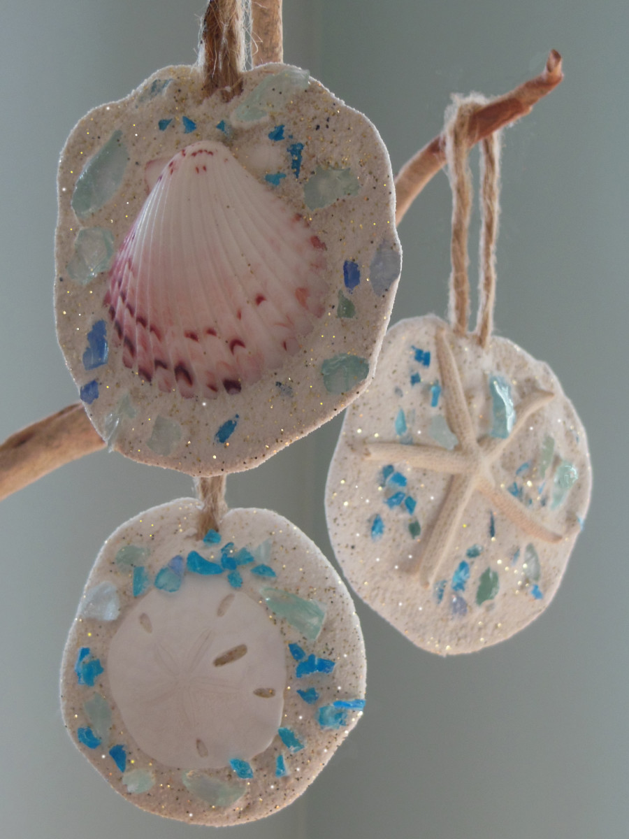 Breast cancer ornament - We Love The Handmade Ornament Kits From The Beach And Nature Co Where Families Can Get Together To Create And Design Their Own Special Ornament Using