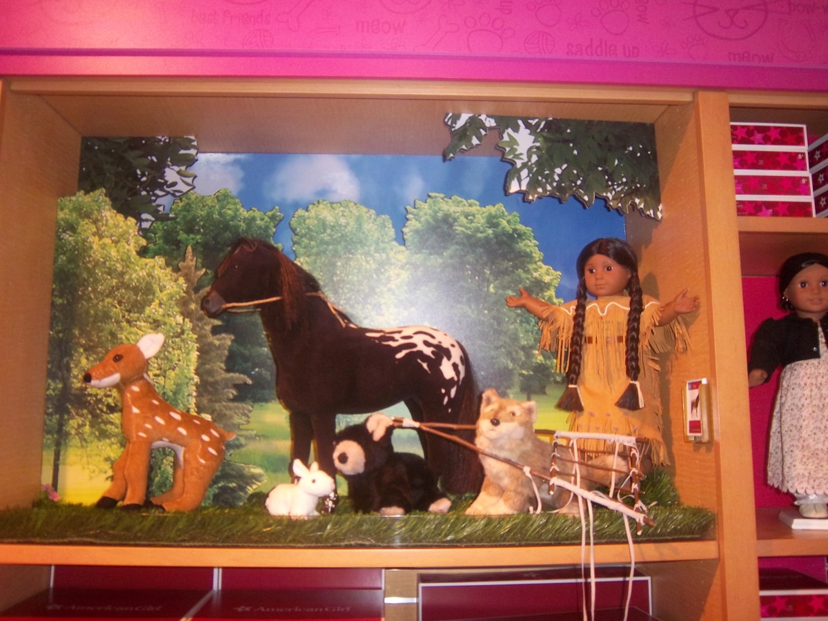 scenes from American Girl