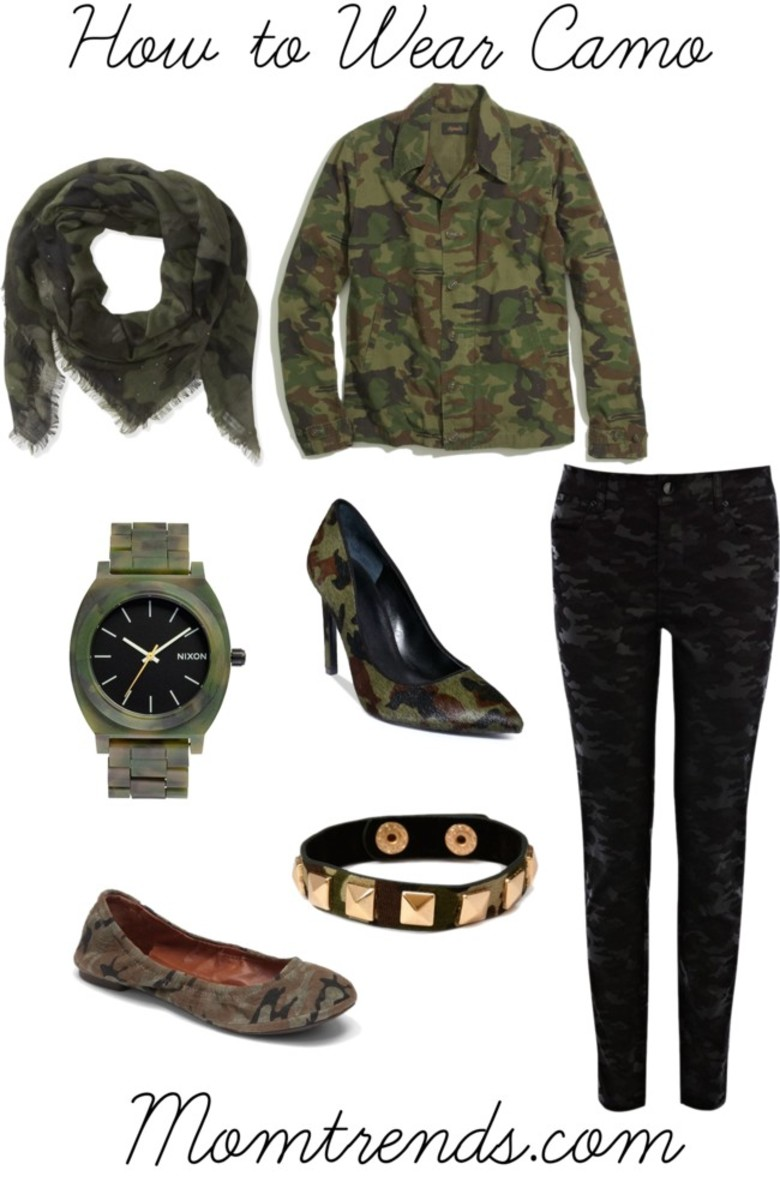How to Wear Camo