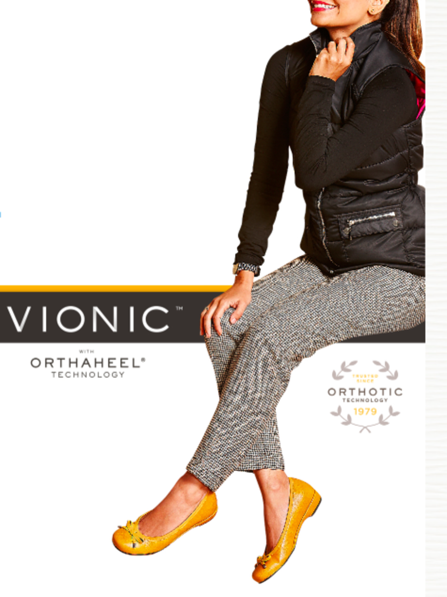 Vionic Shoe Preview