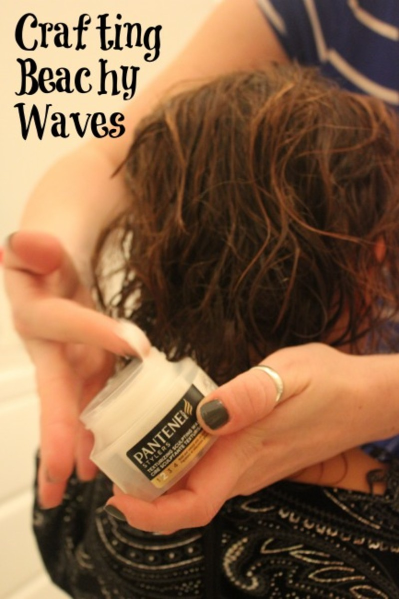 create beachy waves, styles for girls with curly hair
