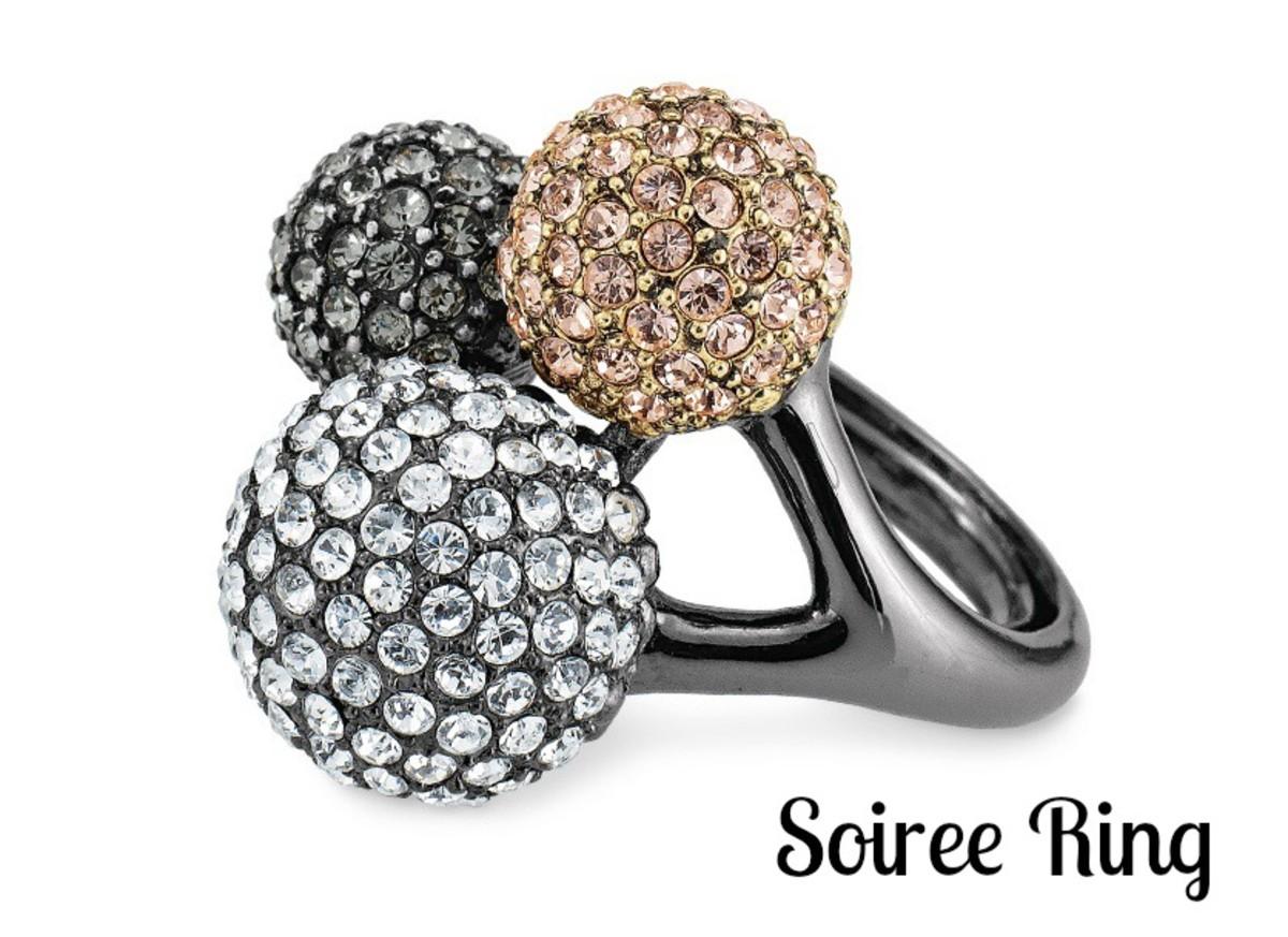 stella dot soiree ring