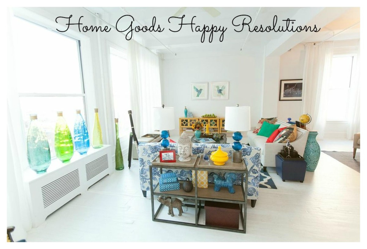 HomeGoods offers an ever changing assortment of unique and distinctive home  fashions  and the finest home basics in every style  for every room in the  home. HomeGoods Happy Resolutions   MomTrends