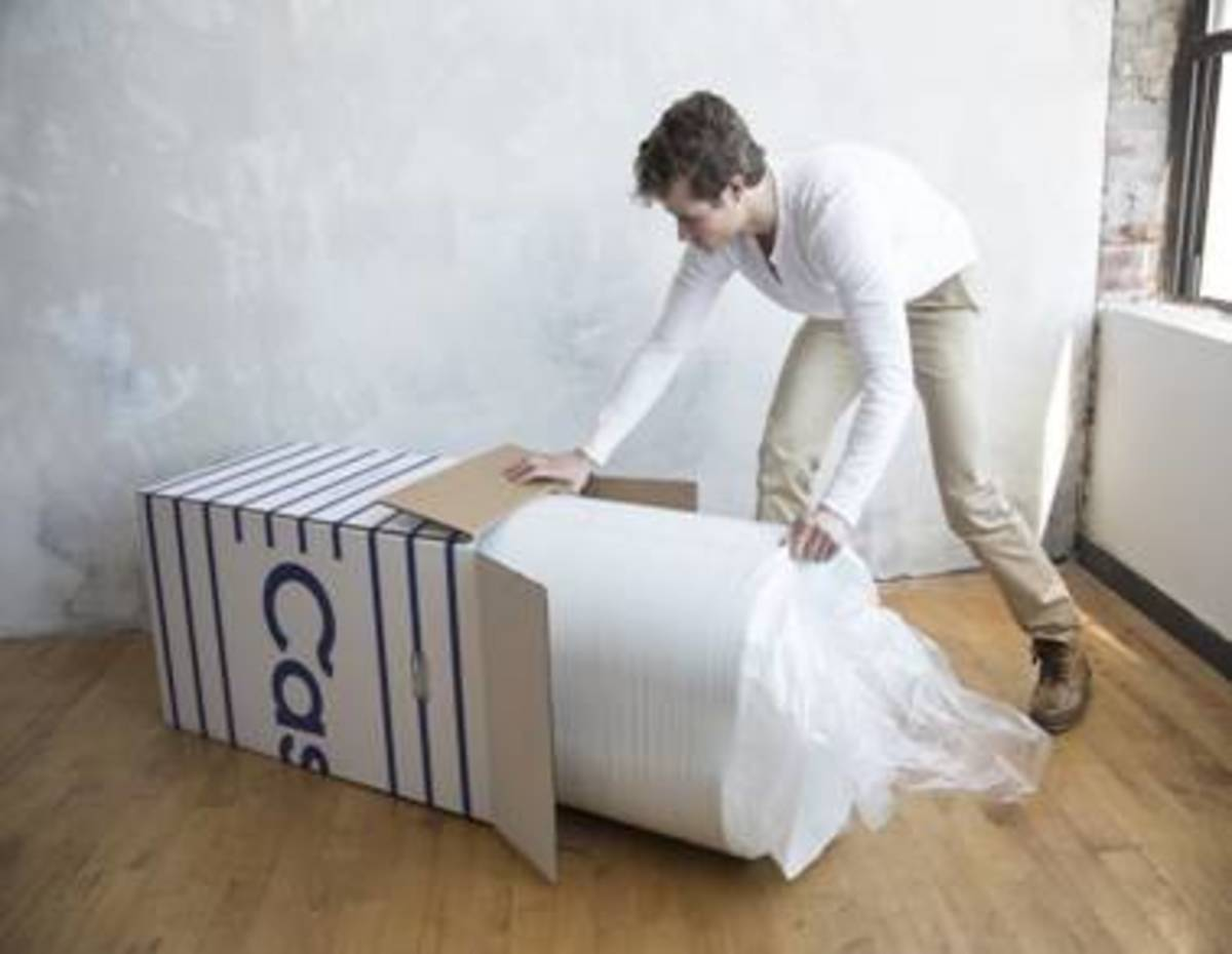 casper mattress, foam mattress, mattress in a box, compressed mattress