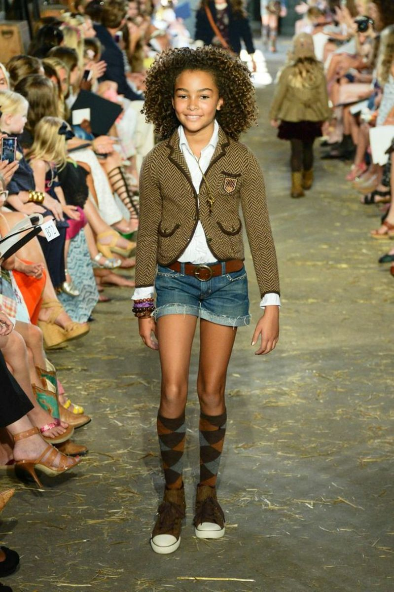 ... Ralph Lauren Girls Tweed