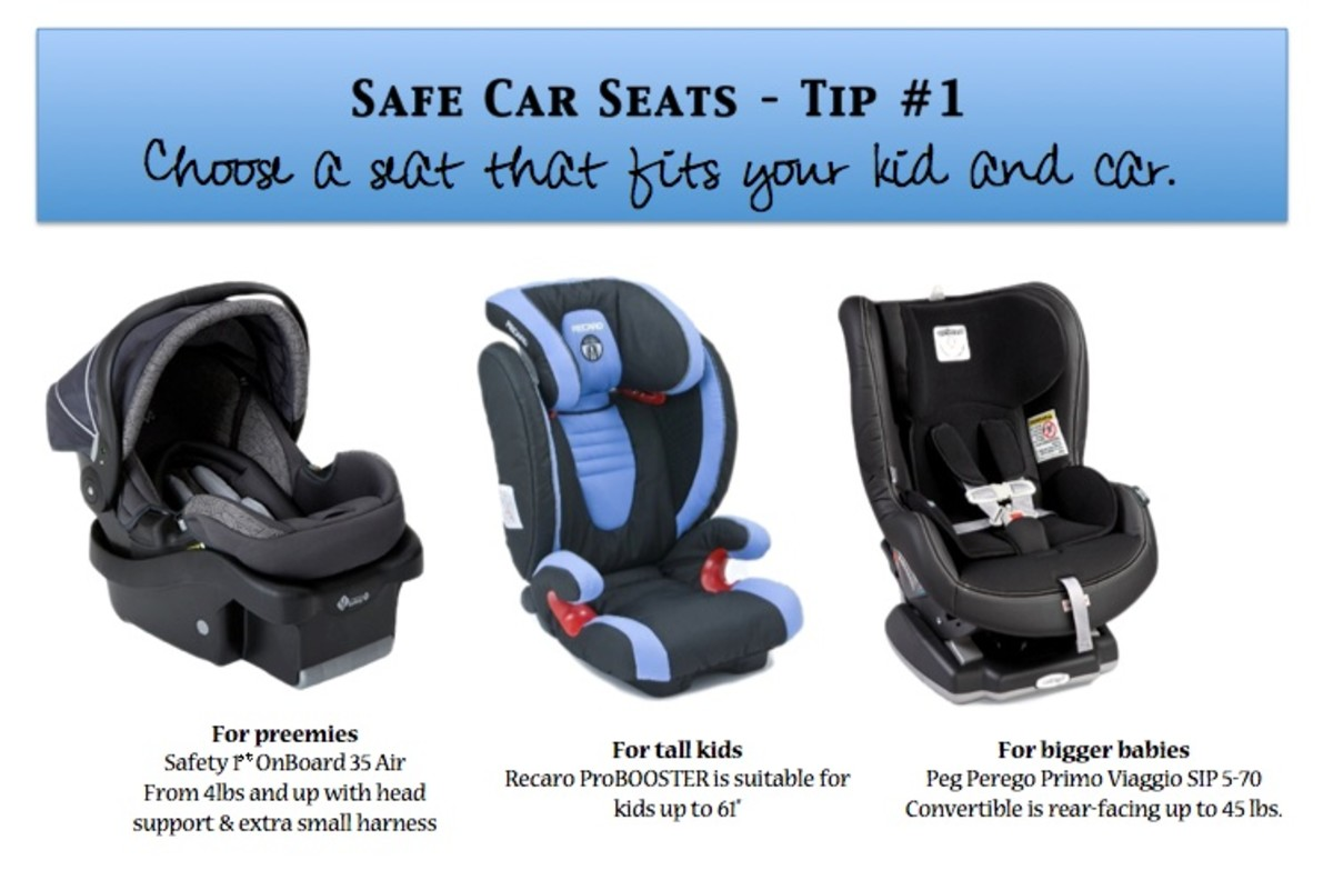 The Safest Car Seat & Child Penger Safety Week - MomTrends
