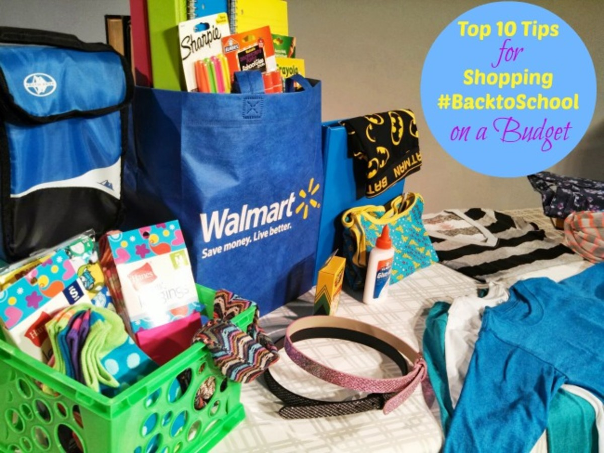 walmart, savings tips for back to school, budget for back to school, shop smart back to school, fashionable and affordable back to school tips