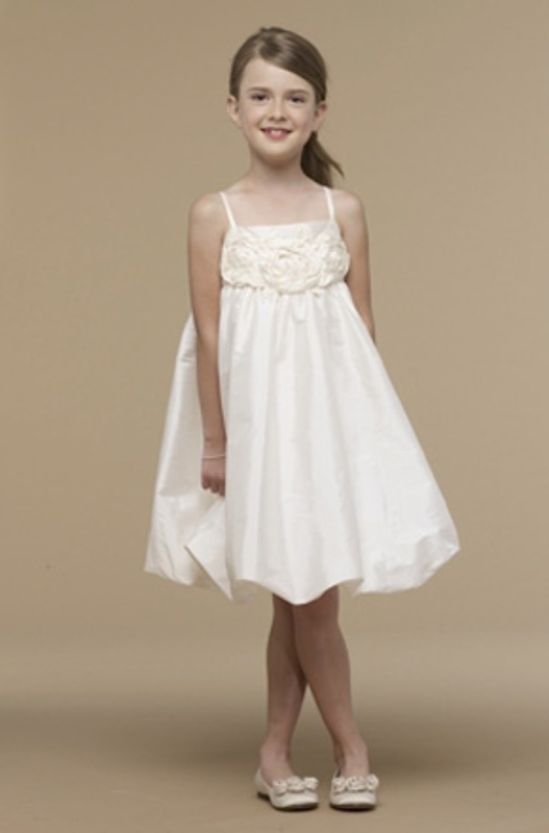 US Angels Review, flower girl dresses