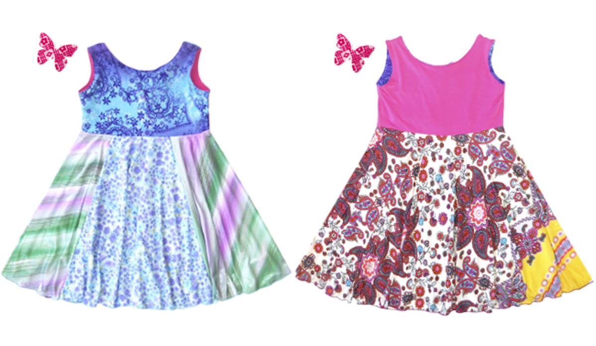 Soho Popsicles Reversible Twirly Dress