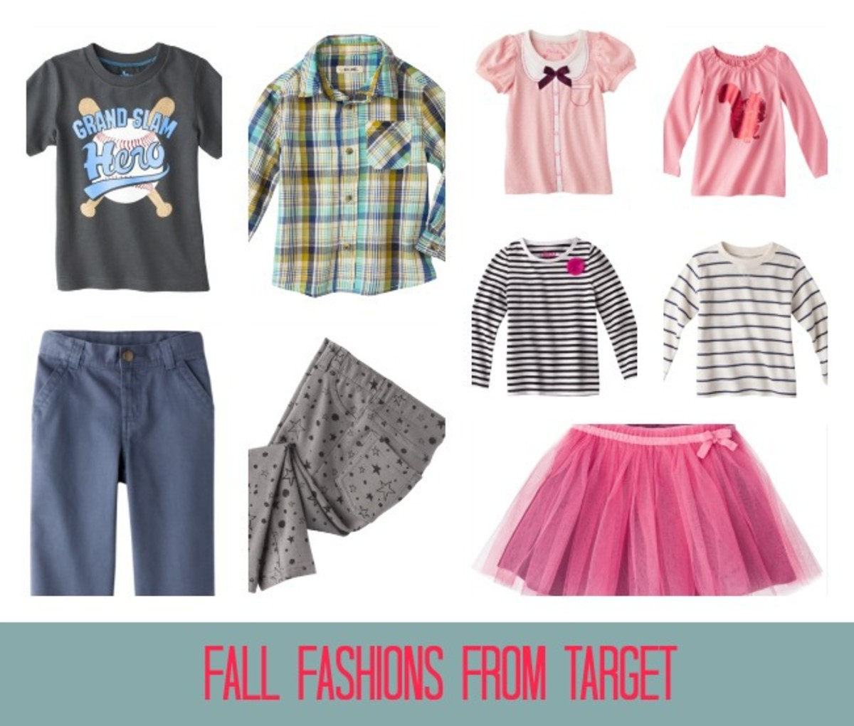 Target Fashions, Target Fashions for Kids