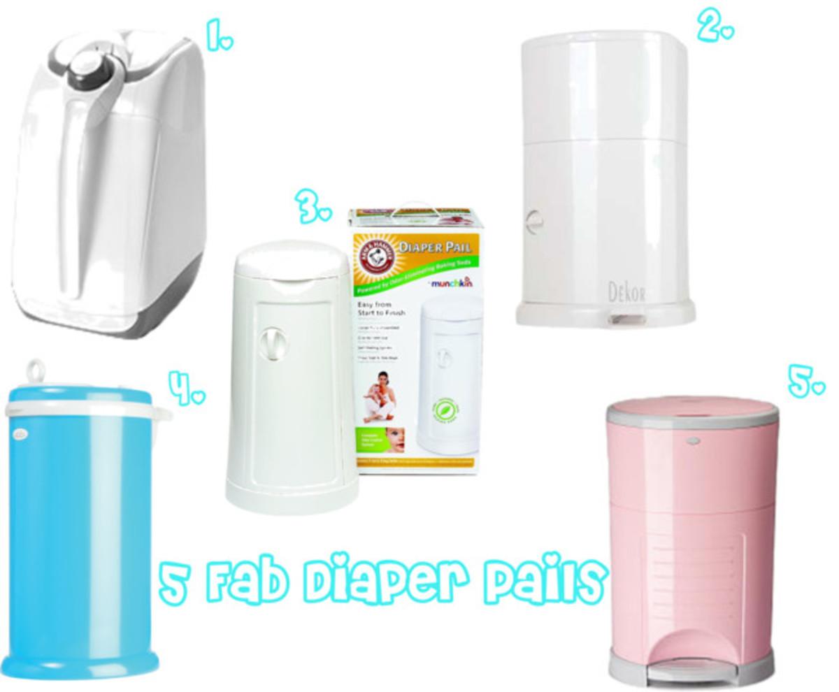 Five Fab Diaper Pails