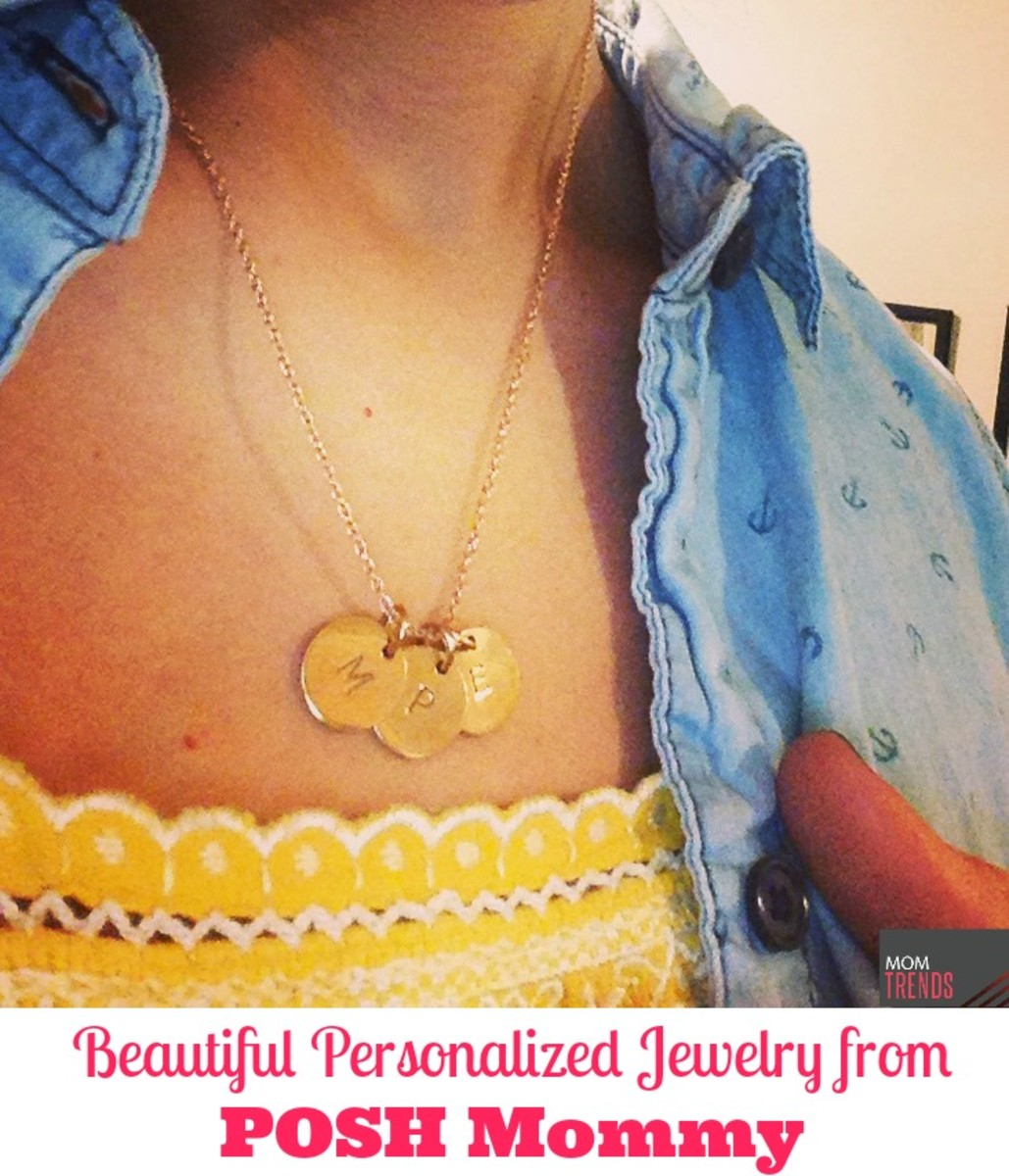 Personalized Jewelry from POSH Mommy