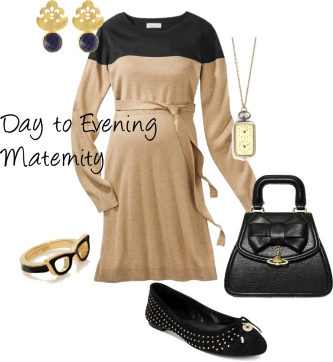 day to evening maternity style