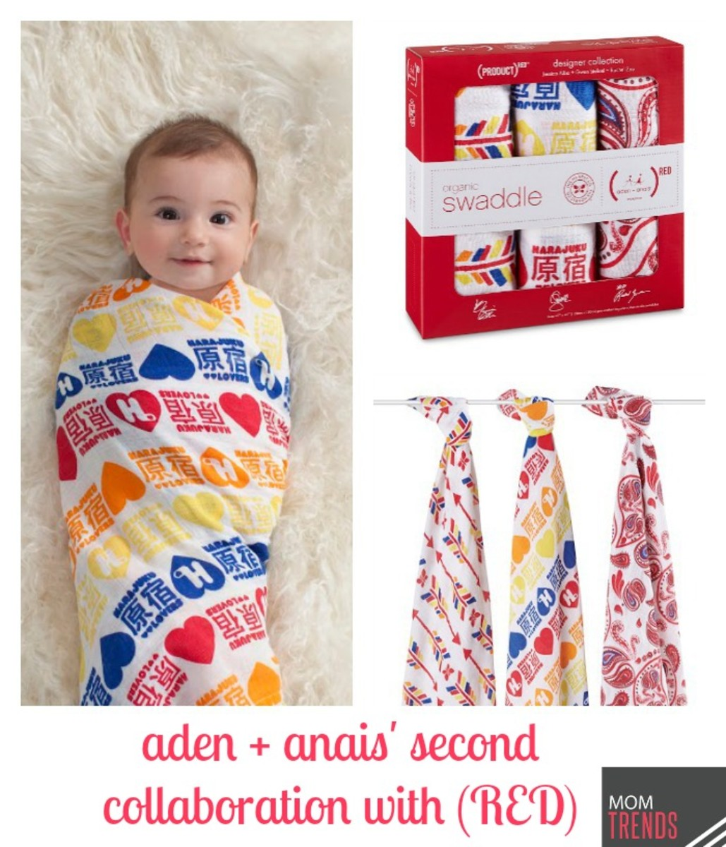 aden + anais' second collaboration with (RED