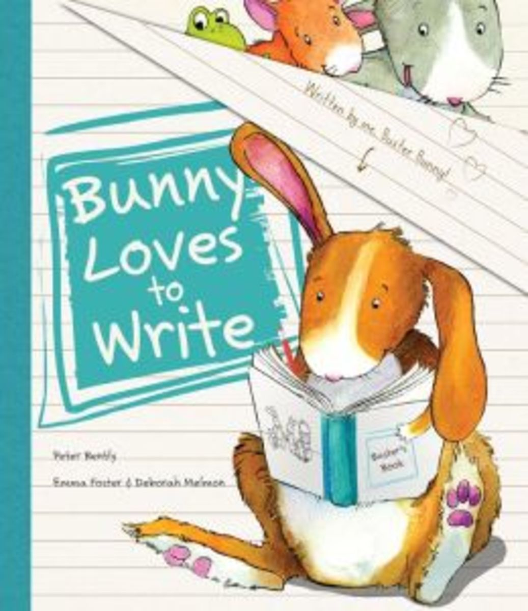 Bunny Loves To Write, Bunny Loves To Write Book