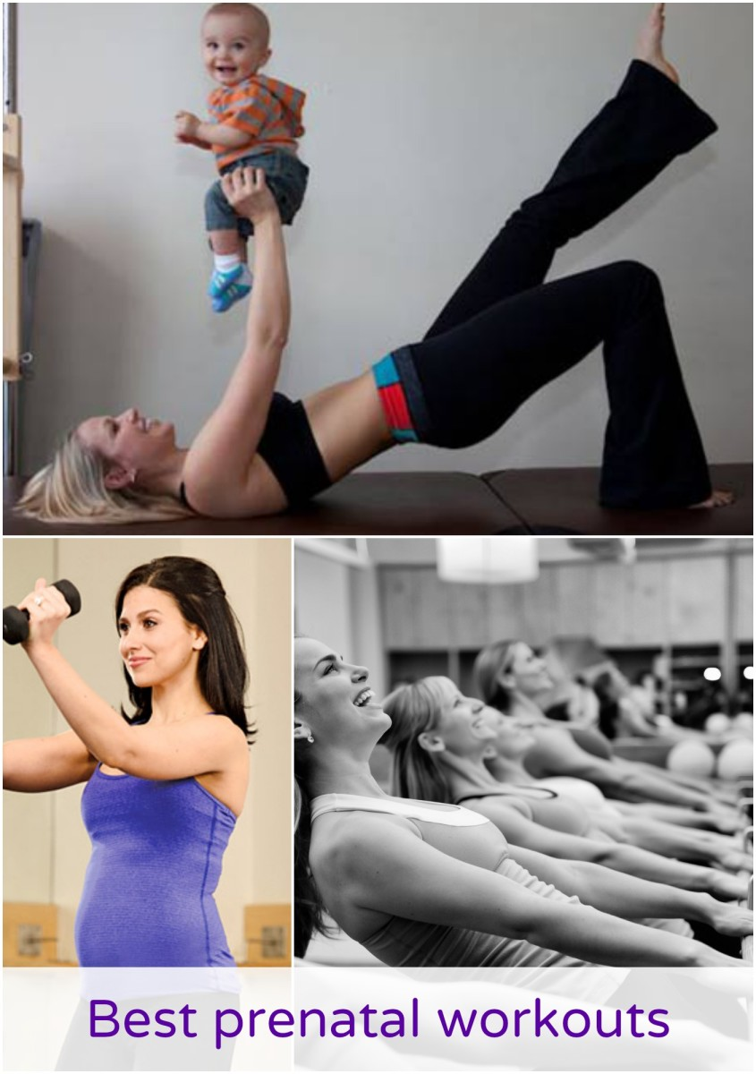 Best prenatal workouts