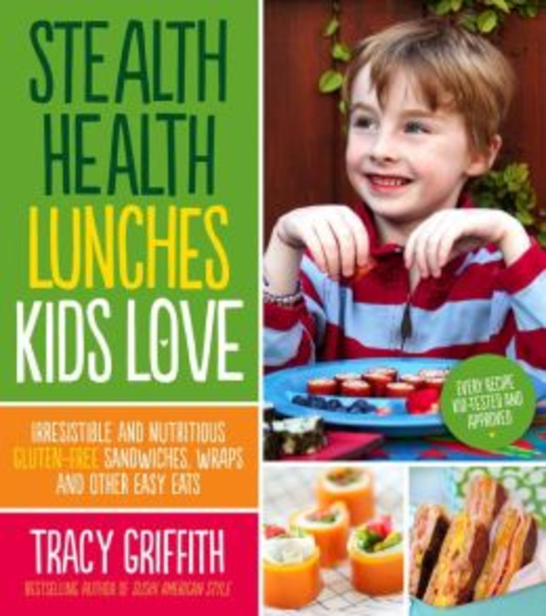 Stealth Health Lunches Kids Love: Irresistible and Nutritious Gluten-Free Sandwiches, Wraps, and Other Easy Eats, Stealth Health Lunches Kids Love: Irresistible and Nutritious Gluten-Free Sandwiches, Wraps, and Other Easy Eats Review