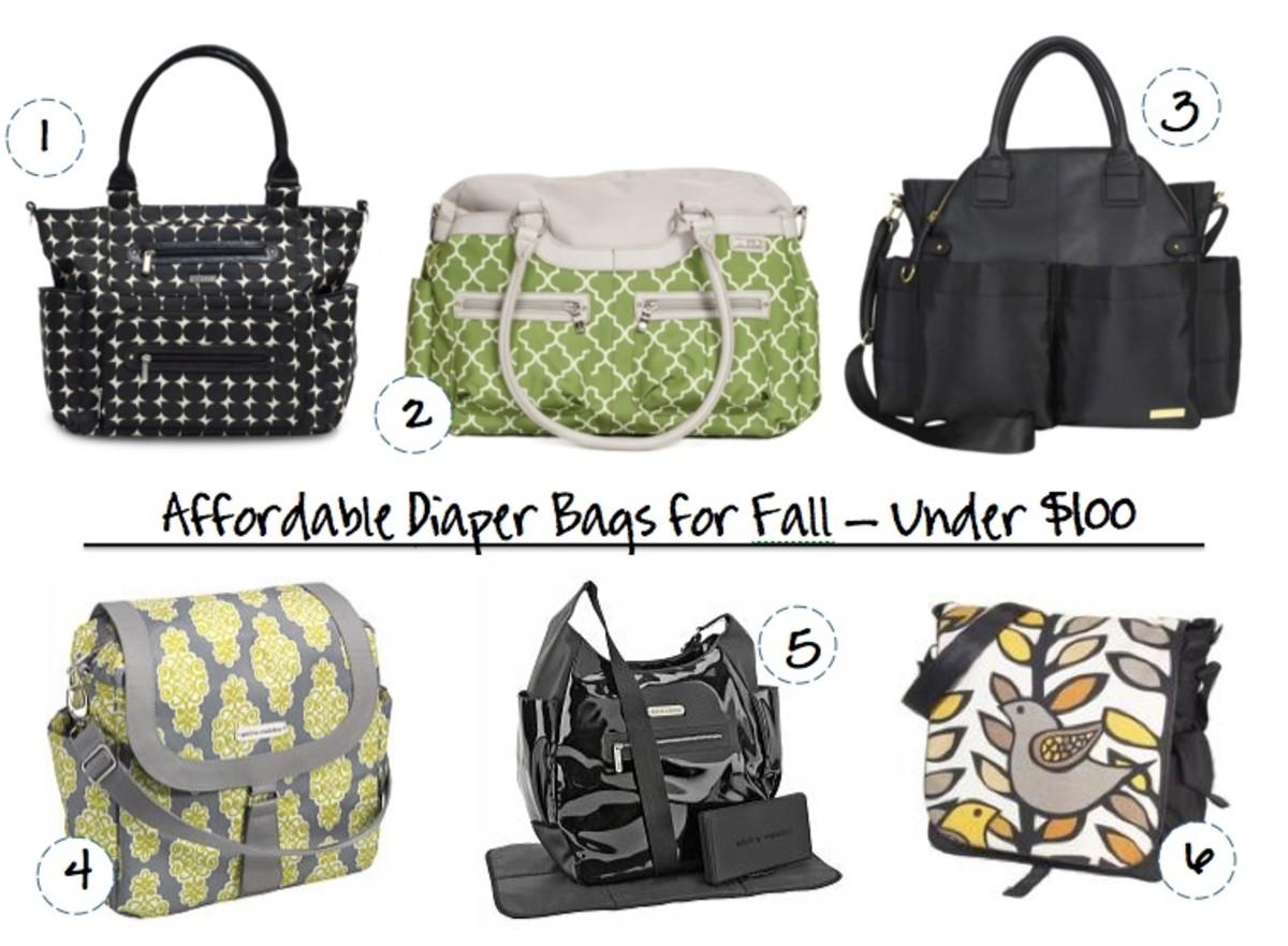 fall diaper bags
