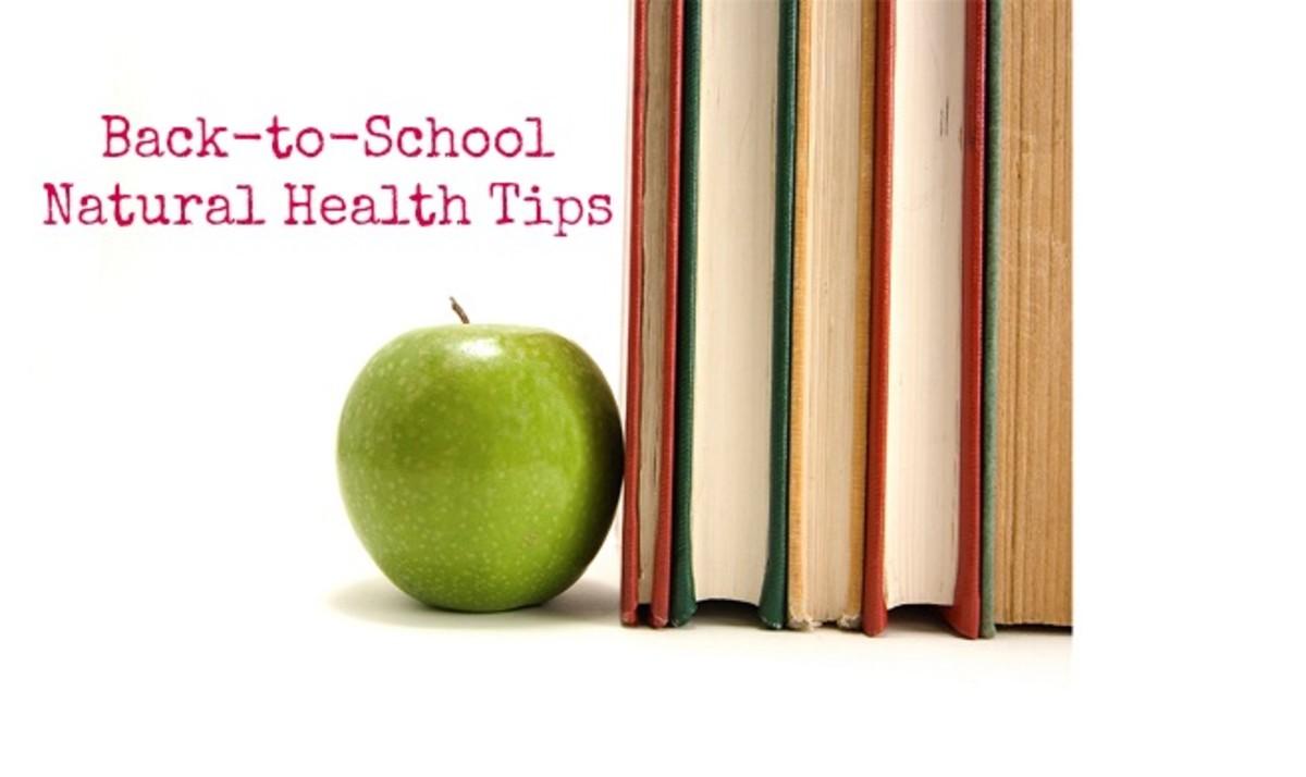 Back-to-School Natural Health Tips - MomTrendsMomTrends