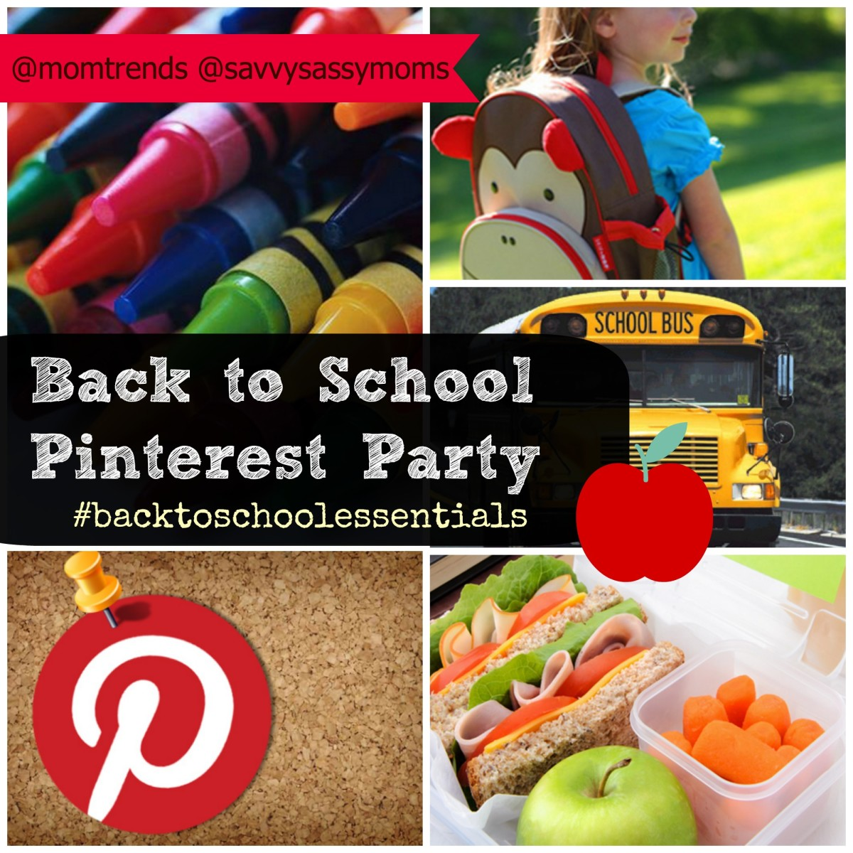 pinning parties, back to school soecila media, pin parties, back to school essentials