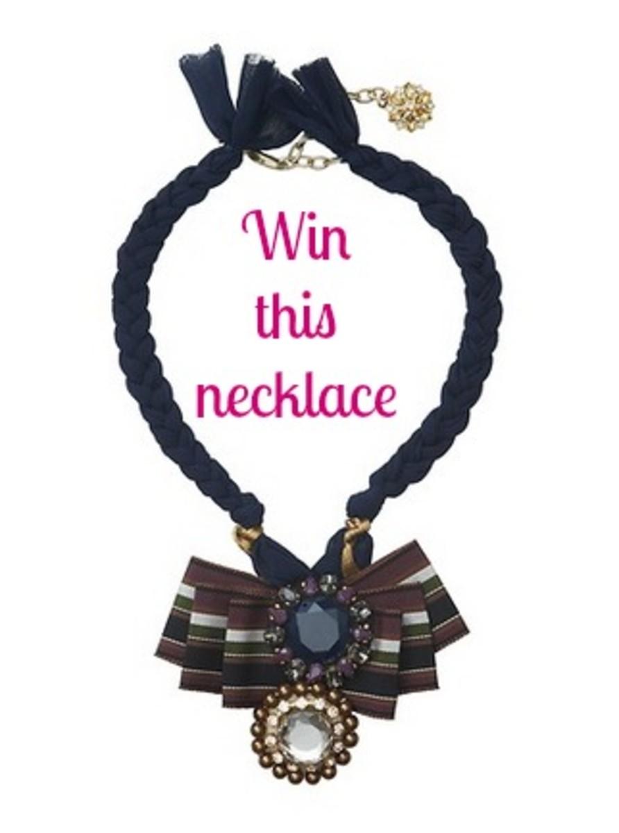 win a LOFT necklace