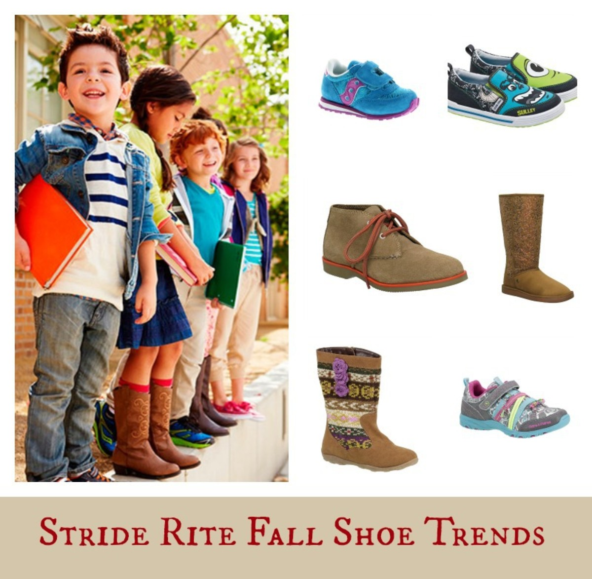 Stride Rite, Stride Rite shoe trends, shoe trends