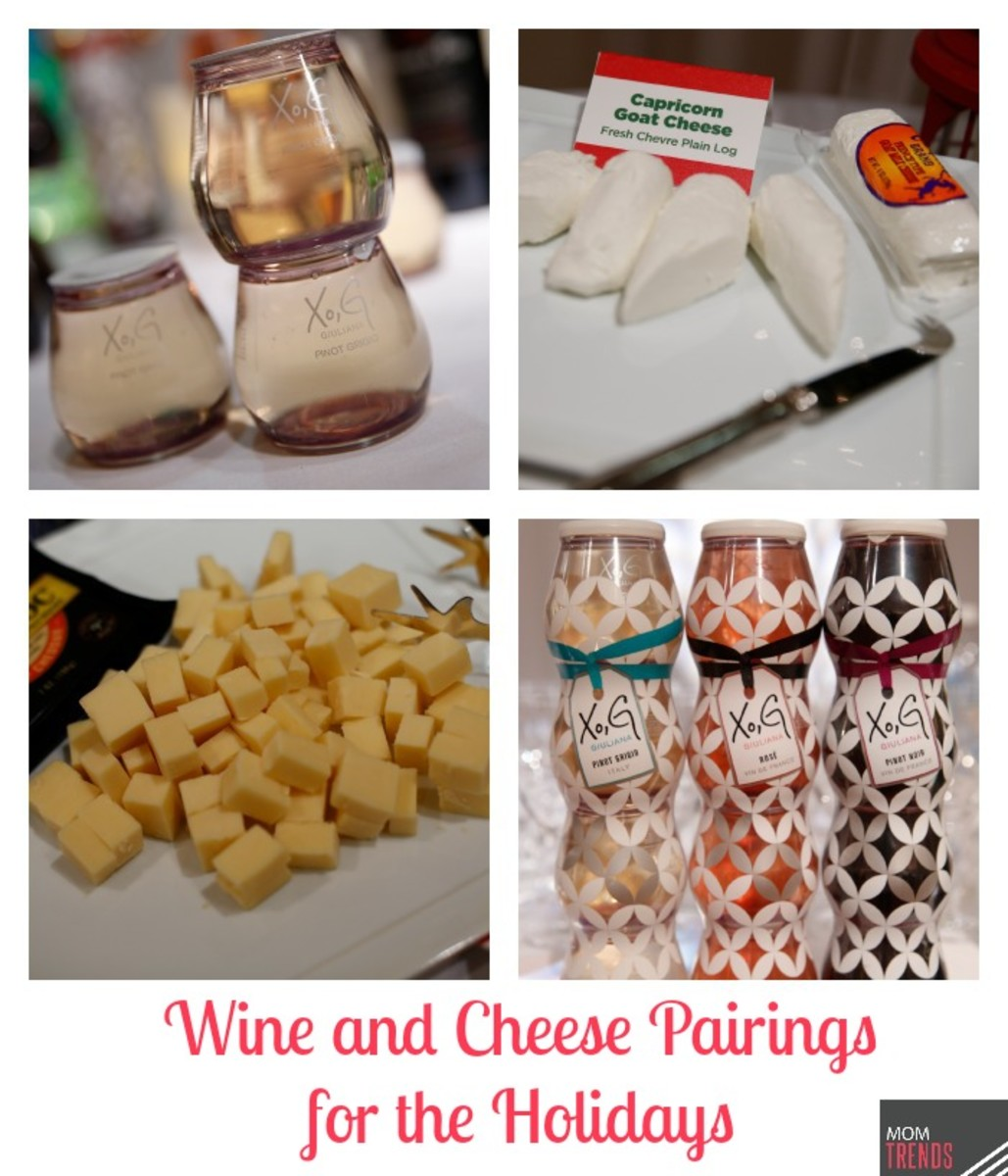 Wine and Cheese Pairings for the Holidays