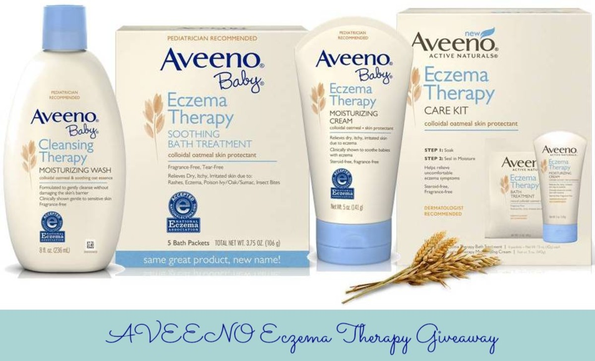 AVEENO Eczema Therapy Giveaway - MomTrends