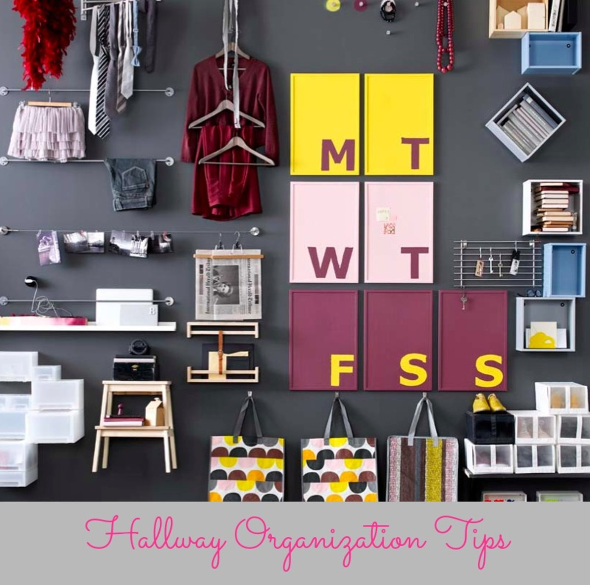 Hallway Organization Tips, IKEA