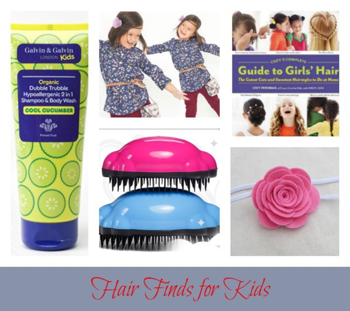 Friday Finds New Looks From Eijffinger: Friday Finds: Hair Finds For Kids