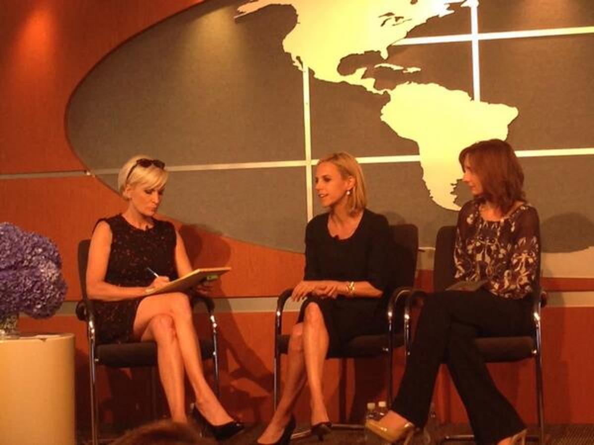 CEO boot camp with Tory Burch