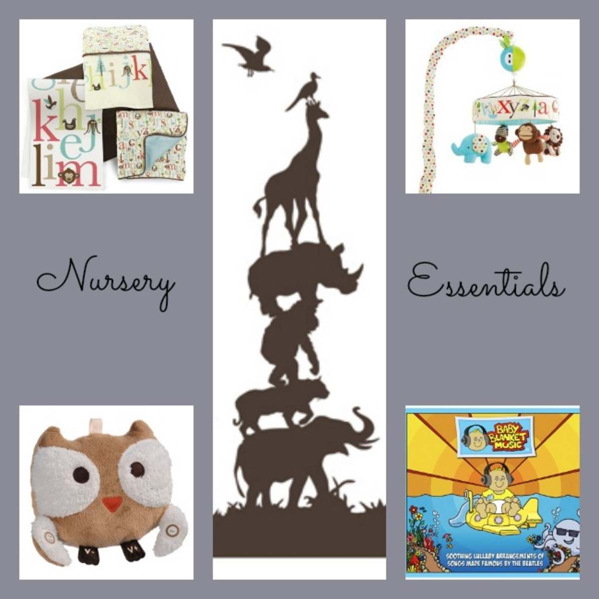 oilo, nursery decor, baby blanket music, skip hop, elli and nooli