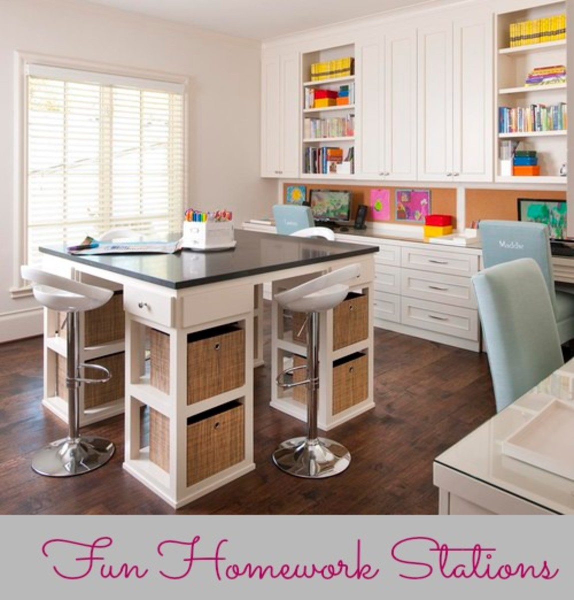 Creating A Fun And Functional Homework Station