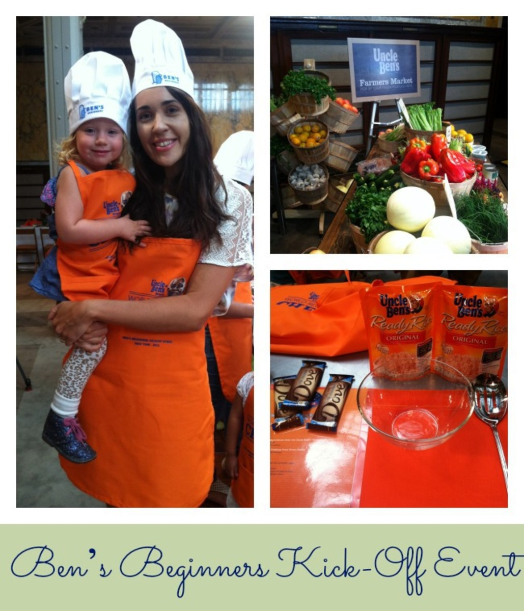 Uncle Ben's Event, cooking with kids