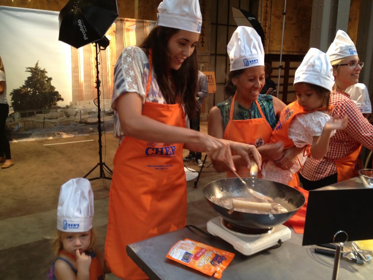 Ben's Beginners, Cooking with Kids