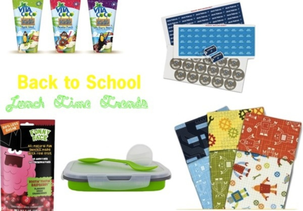 mom trends, mom bloggers, style, moms, tips, healthy lunches, back to school, school lunches, nutrition, how to pack a lunch, coconut water, reusable lunch containers, labels for kids