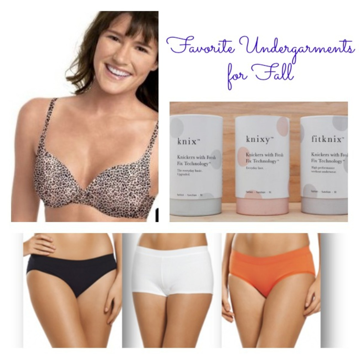 Undergarments for fall, underwear